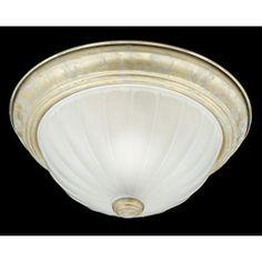 Chardonnay Medium Flush Ceiling Light