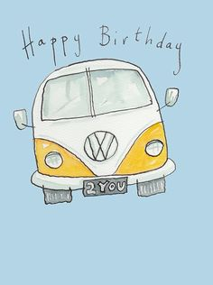Happy Birthday VW Bus
