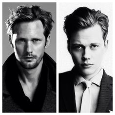 Alexander Skarsgard and his brother Bill  Skarsgard - my two favorite brothers<3