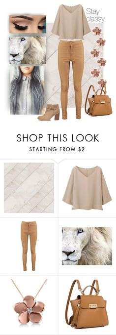"""Neutral Classy Set"" by i-am-khaleesi1 on Polyvore featuring Uniqlo, Boohoo, Allurez, ZAC Zac Posen and Sole Society"