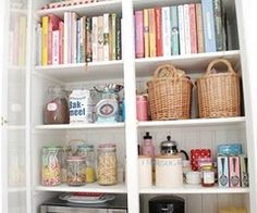 cookbooks can go all the way on the top shelf!