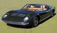 LAMBORGHINI MIURA SPYDER - my money is no object dream car.... #lamborghinivintagecars