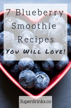 Blueberries are the low-calorie, high-fiber antioxidant rock star of berries. Plus, they taste awesome! We've created these 7 mouth-watering, super healthy and easy-to-prepare blueberry smoothie recipes for you. #superdrinks #healthysmoothies #healthydrinks #healthysmoothierecipes #superfoods #superfoodsmoothies #blueberries #healthsmoothierecipes #healthydrinksrecipes #blueberrysmoothie #blueberrysmoothierecipes #healthysummerdrinks #refreshingsummerdrinks Vegan Blueberry Smoothie Recipe, High Fiber Smoothie Recipe, Blueberry Banana Smoothie, Health Smoothie Recipes, Weight Loss Smoothie Recipes, Fiber Foods For Kids, High Fiber Foods, Constipation Smoothie, High Calorie Desserts