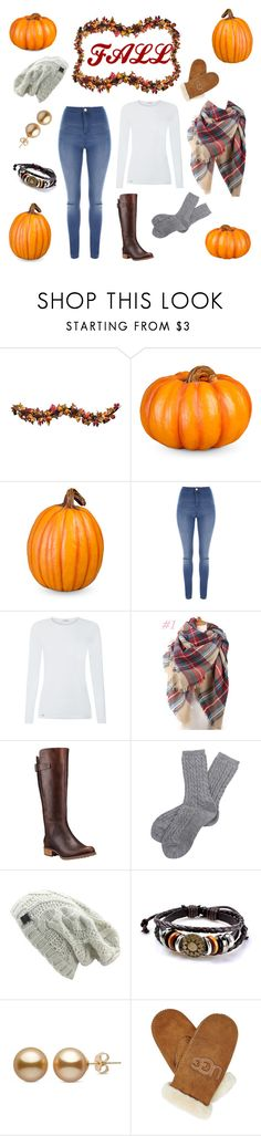 """""""Fall"""" by amartin10 ❤ liked on Polyvore featuring Improvements, Jane Norman, La Perla, Timberland, Barbour and UGG"""