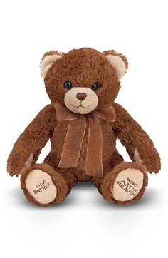 Free shipping and returns on Melissa & Doug Lord's Prayer Bear Stuffed Animal at Nordstrom.com. This furryteddy bear is stuffed with love and will say the Lord's Prayer with your little one when he presses his paws together, perfectfor ultimate bedtime-companion appeal.
