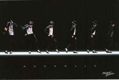 Michael Jackson Moonwalk Poster 24x36 – BananaRoad