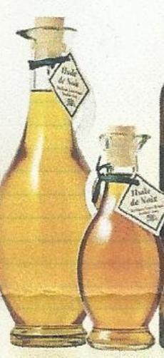 huile de noix artisanale du perigord bouteille amphore 25cl louis roque neuf