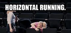 The best kind of running there is. @Katie Keller @Greersy(: we need to do this in gym sometime! lol