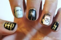 Harry   Voldy = 4ever Nails | 12 Incredibly Intricate Harry Potter-Inspired Manicures