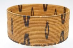 Native American Sweet Grass Basket : Lot 561