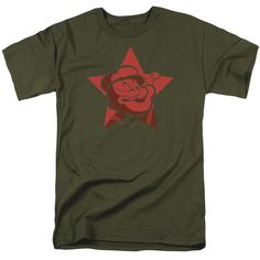 Popeye: Red Star T-Shirt