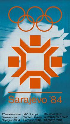 Winter Olympics 1984: Sarajevo, Yugoslavia | Artists: Cedomir Kostovic, Kemal Hadzic, and Levi Sasa