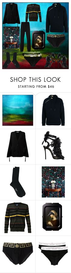 """I love to wear fashion"" by denisee-denisee ❤ liked on Polyvore featuring Pierre Balmain, Dorothee Schumacher, Dsquared2, Junya Watanabe, ibride, Versace and vintage"