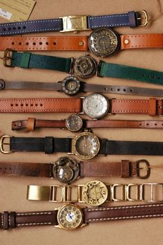 "I developed a passion for watches a long time ago, have quite a collection, and some day I want to do a shadow box with all of them, with a title of ""madetyme4"", which has special meaning to me."