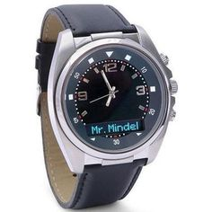 Men's Phone Receiver Watch