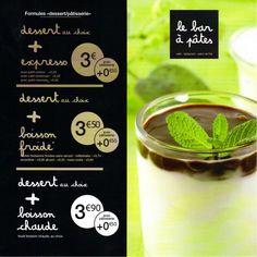Un petit creux ? Nous avons la formule #patisseries & @ #dessert qu'il vous faut au Bar A Pâtes de Lille !!  #barapates #lille #losc #grandstade
