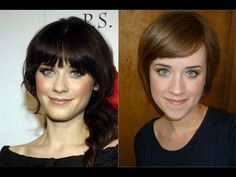 Classic Zooey Deschanel Makeup Tutorial