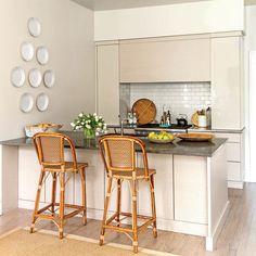 Classically Elegant New Orleans Home: White Kitchen