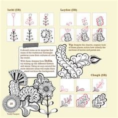 cool instructions for a tangling project...THESE ARE NOT MY IMAGES. I DO NOT TAKE CREDIT FOR THEM.