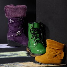 Take a look at the Fashion Strides: Girls' Boots event on zulily today!