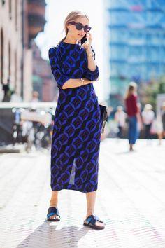 Street Fashion z Tygodnia Mody w Kopenhadze wiosna lato 2016/ Kopenhagen Fashion Week spring summer 2016, fot. Szymon Brzóska dla East News