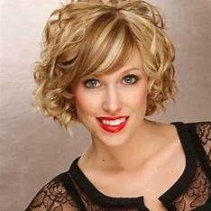 Images Cute Short Curly Hairstyles, Bob Hairstyles With Bangs, Oval Face Hairstyles, Curly Hair With Bangs, Short Hair Cuts, Curly Hair Styles, Latest Hairstyles, Curly Short, Medium Curly