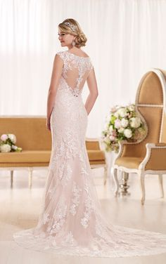 Wedding Dresses with Cap Sleeves   Essense of Australia