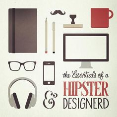 check to the majority of these things #hipsterdesignerd