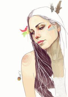 Portrait Illustrations by yourPorcelainDoll