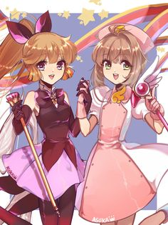 魔卡少女×魔術少女 [1]  Saint Tail and Card Captor Sakura