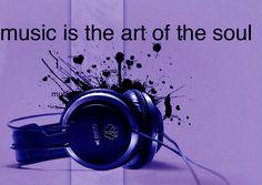 Houd van muziek.