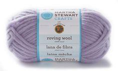 Martha Stewart CraftsTM/MC Roving Wool Yarn from Lion Brand Yarn