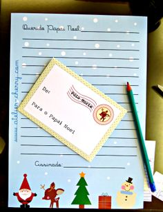 ATELIER CHERRY: Carta ao Papai Noel - Download