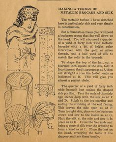 The Midvale Cottage Post: Home Sewing Tips from the 1920s - Sewing a Chic Tu...