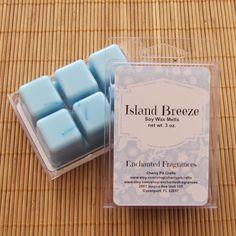 Island Breeze Odor Neutralizing Soy Wax Melts - Handmade Soy Wax Melts by CherryPitCrafts on Etsy