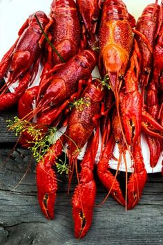 Discover what are Chinese Seafood Food Preparation Seafood Buffet, Seafood Pasta, Seafood Dinner, Crawfish Recipes, Seafood Recipes, Swedish Cuisine, Lobster Bake, Swedish Recipes, International Recipes