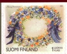 Finland 2001 Friendship (greetings), Paintings by Minna Immonen - Stamps of the World