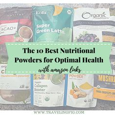 The 10 best Nutritional Powders for Optimal Health - Traveling Fig Get Healthy, Healthy Tips, Tart Cherry Juice, Eastern Medicine, Vegan Protein Powder, Acquired Taste, Lower Blood Sugar, Eco Friendly House, Plant Based Protein
