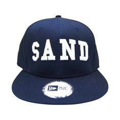 SAND NEW ERA SNAPBACK CAP