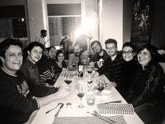 Cena navideña de los artistas. Sopar de nadal dels artistes. Christmas dinner of the artist.