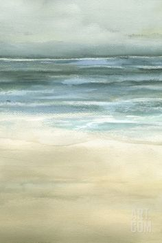 Tranquil Sea II Giclee Print by Jennifer Goldberger at Art.com