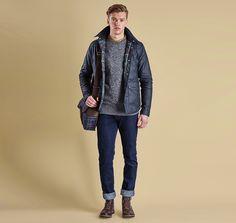 Barbour Reelin Wax Jacket
