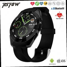 44.10$  Buy now - http://alincf.worldwells.pw/go.php?t=32787913359 - 2016 NEW NO.1 G5 Smart Watch MTK2502 Smartwatch Heart Rate Monitor Fitness Tracker Call SMS Reminder Camera for Android iOS 44.10$