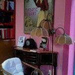 Librería Madame Bovary en Santiago de Compostela (España). Una librería que sólo vende novela romántica.