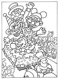Kleurplaten Carnaval A4.79 Beste Afbeeldingen Van Carnaval Kleurplaten Coloring Pages