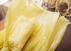 Tamales de elote (Uchepos) Michoacán