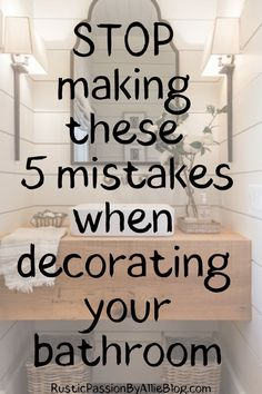 Are you remodeling your bathroom? And looking for the best organization hacks to keep a clean bathroom. These habit will help you stay organized and look like a professional decorator. Bathroom Shelf Decor, Bathtub Decor, Budget Bathroom, Bathroom Cleaning, Bathroom Styling, Bathroom Storage, Bathroom Decor Ideas On A Budget, Ikea Hack Bathroom, Bathroom Interior