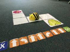 BeeBot Maze with Coding cards by Michelle Neurohr Stem Classes, Sequencing Cards, 21st Century Learning, Coding For Kids, Digital Literacy, Teaching Technology, Simple Machines, Bee Theme, Help Teaching