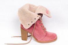 Fornarina pink boots