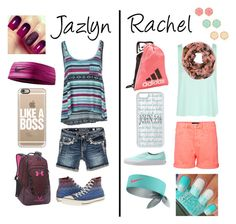 """Jazlyn and Rachel"" by jmsmith462 ❤ liked on Polyvore"